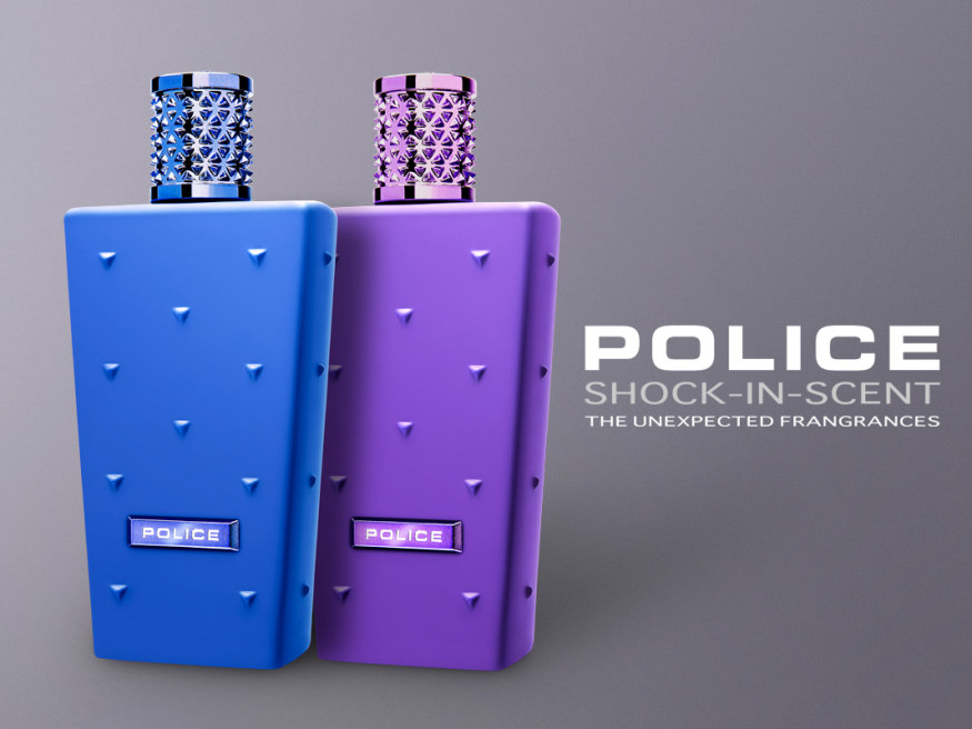 Foto Campagna Pubblicitaria Profumo Police Shock-In-Scent