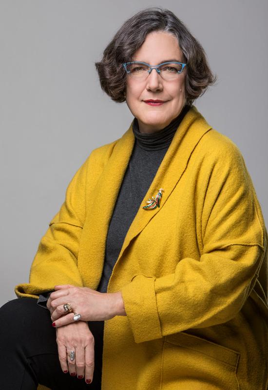 ritratto della scrittrice Ingrid Rowland - Ferrante fotografo